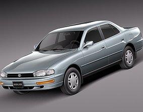 fbx 3D model Toyota Camry 1992-1996 x