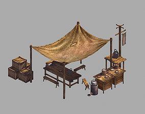 Dynasty Tea - Bread - Stand 3D