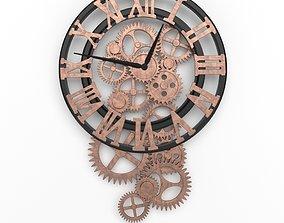 3D model Loft clock