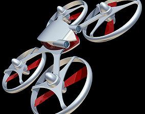 drohne 3D model Quadrocopter