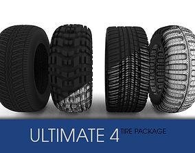 3D model Tire pack Ultimate 4