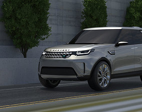 Land Rover Discovery Vision Concept 3D