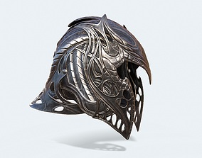 3D model Krypton Helmet