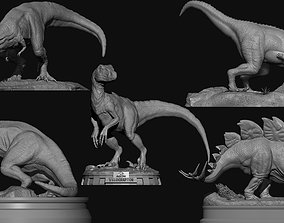 5 Pack Dinosaurs for 3d Print