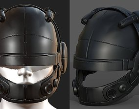 Helmet scifi fantasy futuristic military combat 3D model