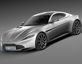 Aston Martin DB10 2015 3D
