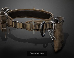 3D model Military gear pack 02