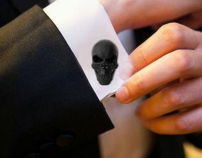 Skull Cufflinks 3D printable model