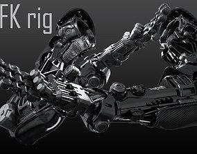 3D FPS Hand mechanical 05