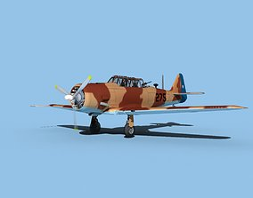 North American AT-6 Texan V10 Chile 3D model