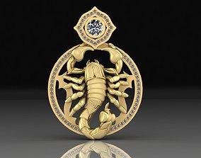 3D print model Pendant Scorpion scorpion