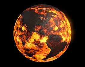 Scorched Earth v2 - 8k PBR 3D asset