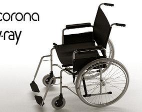 3D disabled Wheel Chair