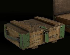 3D model Polish Military Surplus - Ammo Box