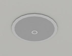 3D model ceiling speaker
