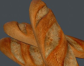FrenchBread 3D asset