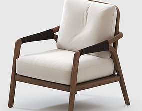Mcguirefurniture KNOT LOUNGE CHAIR 3D