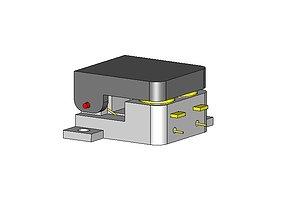 SPDT Momentary Small Switch 3D printable model
