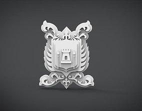 3D model Emblem