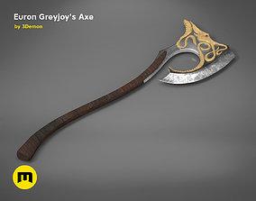 Euron Greyjoy - Octopus Axe 3D printable model