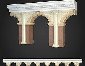 3D model classicism Arcade