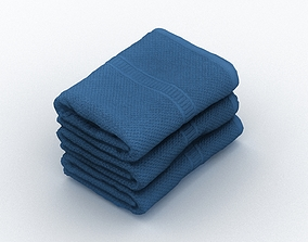 3D model fbx Towels