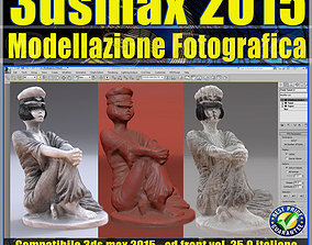 3ds max 2015 Modellazione Fotografica vol 25 CD