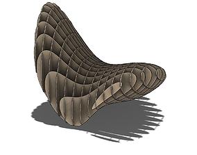The three-dimensional shape 3D printable model