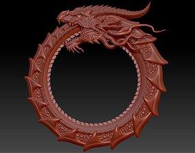 Dragon Ouroboros 3D print model