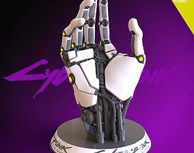 sci Cyberpunk 2077 3D printing ready fanart