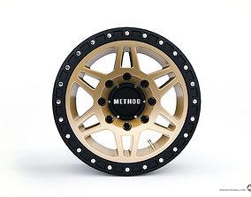 3D Wheel Disk Method