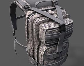 Bagpack scifi military 3D asset
