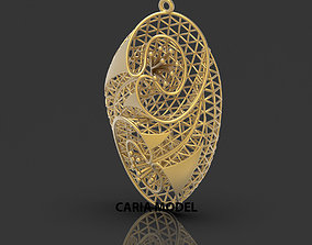 Ultra Fusion Pendant STL 3d model for 3d printing 068