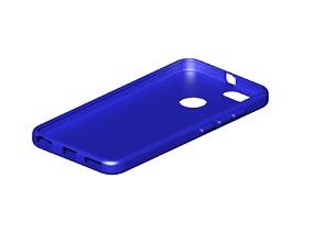 Xiaomi A1 case 3D print model