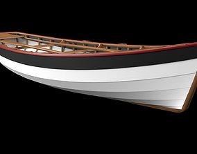 boat wood 3D