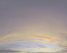 3D Skydome HDRI - Sunset Clouds