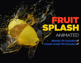 houdini Fruit Splash 3D