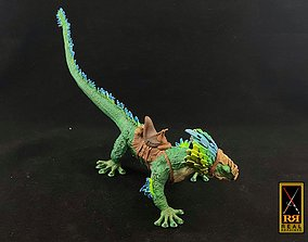3D print model Galactic Raptor With Rider