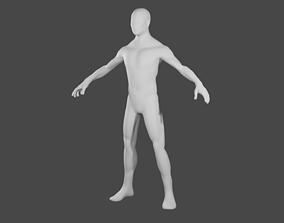 base Male Base mesh 3D