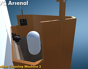 Window Cleaning Machine 2 - HQ 3D model