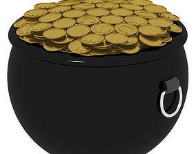Pot of Gold 3D model