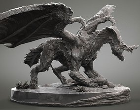 3D print model DRAGON ROCK sculptures