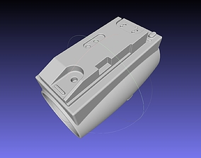 Battlestar Galactica Cylon Armpieces Printable Parts