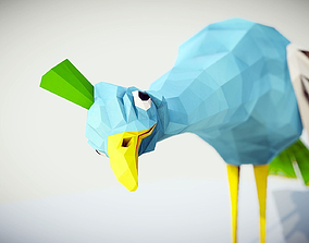 3D model Peacock