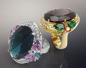 3D print model Ring Collection Classics