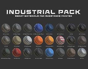 Industrial Smart Materials Pack 3D