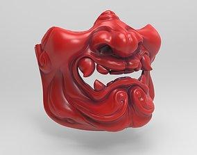 Samurai Menpo mask 3D print model