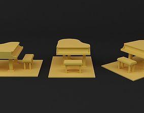 3D printable model Piano