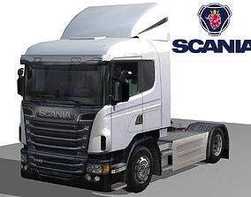 Scania G 400 Series 3D asset