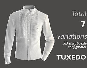 Part 2 - 3D Shirt Puzzle Configurator - TUXEDO